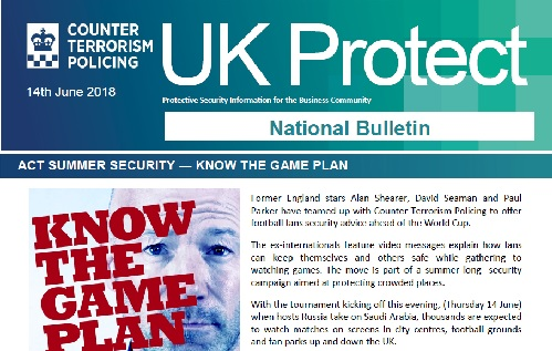 CSSC UK Protect National Bulletin