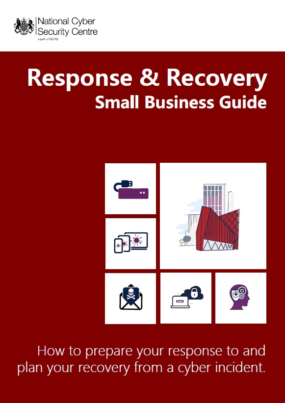 NCSC Small business Response Recovery Front