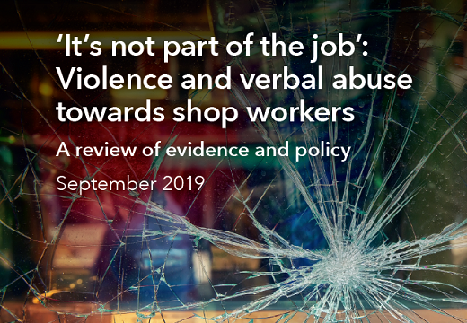 Violence towards shop workers: Report released